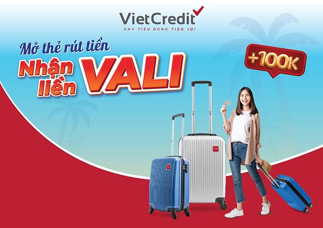VietCredit triển khai khuyến mại tặng vali cao cấp cho khách hàng - 1