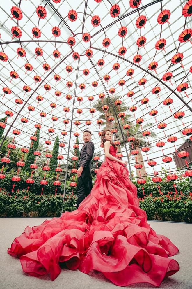"""Hé lộ bộ ảnh cưới đặc biệt của cặp đôi """"trai tài gái sắc"""" Minh Thành và Minh Hồng đốn tim giới trẻ - 1"""