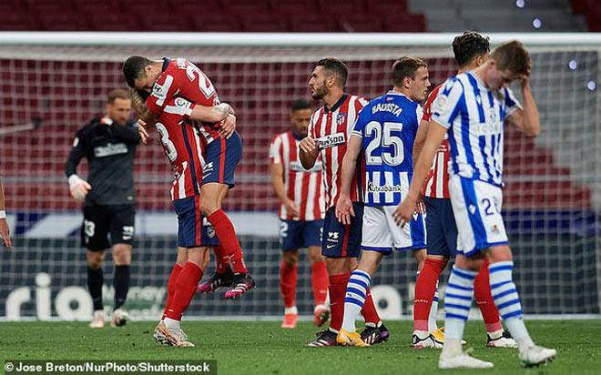 Kịch bản Atletico Madrid vô địch La Liga cuối tuần này, Real Madrid và Barca e sợ - 1