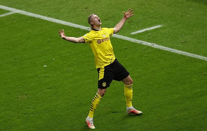 Video Leipzig - Dortmund: Sancho, Haaland đua nhau tỏa sáng, đại tiệc 5 bàn - 1