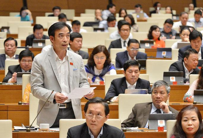 Xin ý kiến Hội đồng bầu cử quốc gia cho ông Nguyễn Quang Tuấn rút ứng cử đại biểu QH - 1