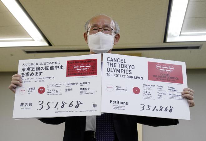 Bất an với Covid-19, người dân Nhật Bản đòi hủy Thế vận hội Tokyo - 1
