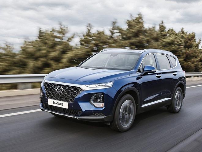 Giá xe Hyundai Santa Fe lăn bánh tháng 5/2021 - 1