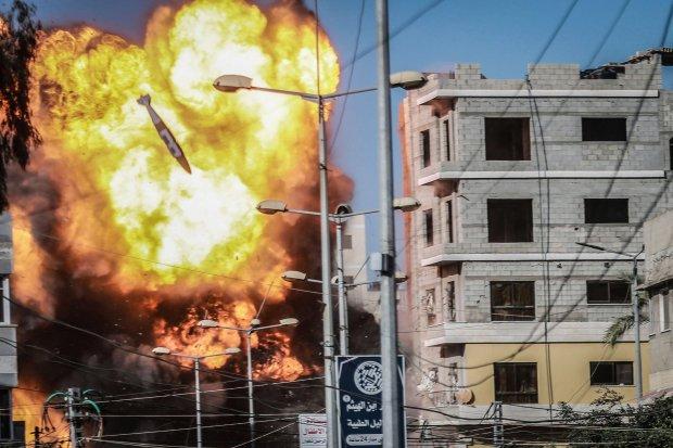 """Quân Hamas mắc lừa Israel, chui xuống hầm ngầm để lãnh """"mưa"""" 450 tên lửa? - 1"""