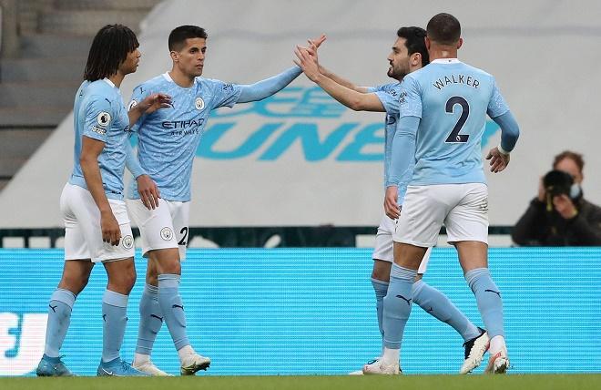 """Man City ngược dòng kinh điển: Xứng danh """"Vua sân khách"""", lập kỷ lục Ngoại hạng Anh - 1"""