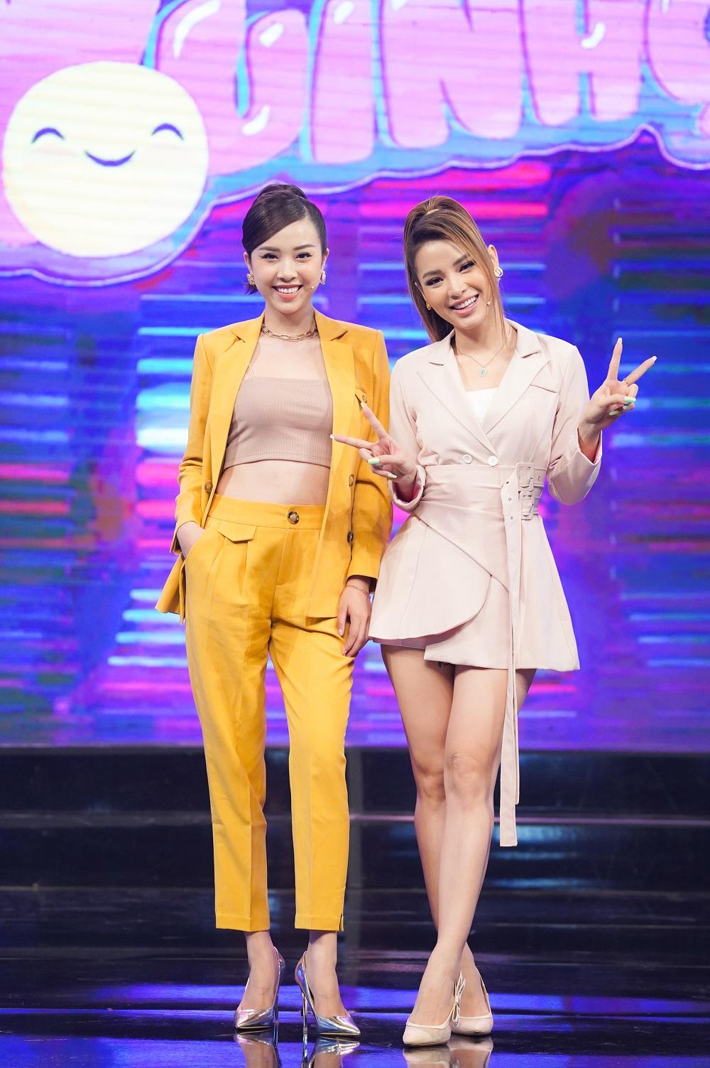 """Hoa hậu Tiểu Vy sợ """"xanh mặt"""", suýt khóc trên sân khấu khi lần đầu tham gia gameshow - 1"""