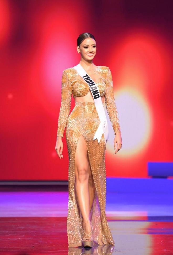 Top 15 thí sinh mặc trang phục dạ hội đẹp nhất Bán kết Miss Universe, Thái Lan dẫn đầu - 1