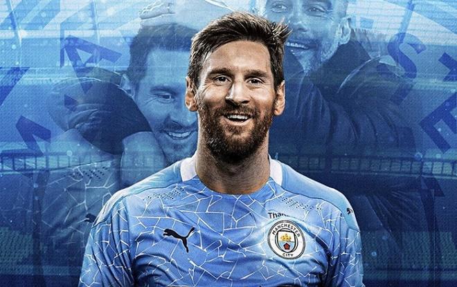 Rộ tin Messi lật kèo Barca, đến Man City nhận lương cao nhất lịch sử NHA - 1