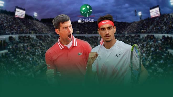 Video Djokovic - Sonego: Sảy chân khó ngờ, set cuối bừng tỉnh (Bán kết Rome Masters) - 1