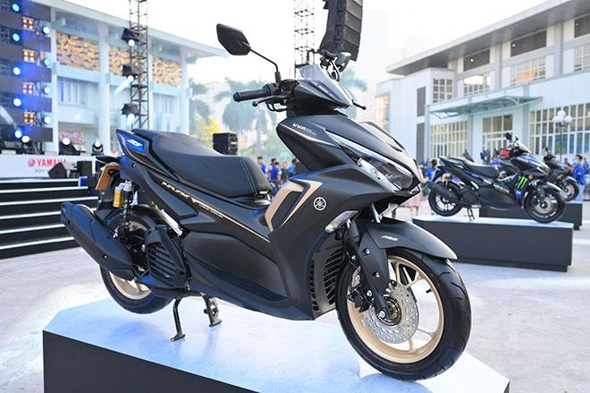 Yamaha NVX 155 VVA thế hệ II trình làng: Giá bán từ 53 triệu đồng - 1