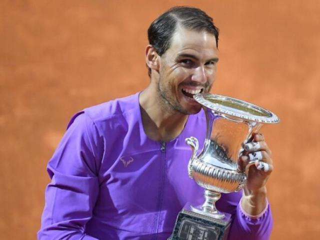 Nadal đón mưa kỷ lục ở lần thứ 10 vô địch Rome Masters, hé lộ ngày càng giỏi điều này