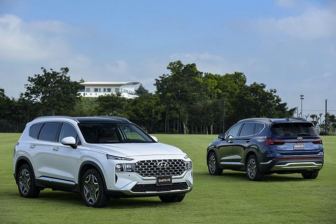 Hyundai SantaFe bản nâng cấp ra mắt thị trường Việt, giá hơn 1 tỷ đồng - 1