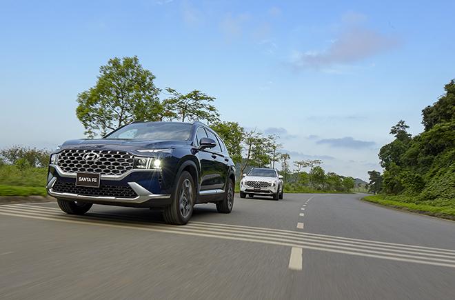 Hyundai SantaFe bản nâng cấp ra mắt thị trường Việt, giá hơn 1 tỷ đồng - 15