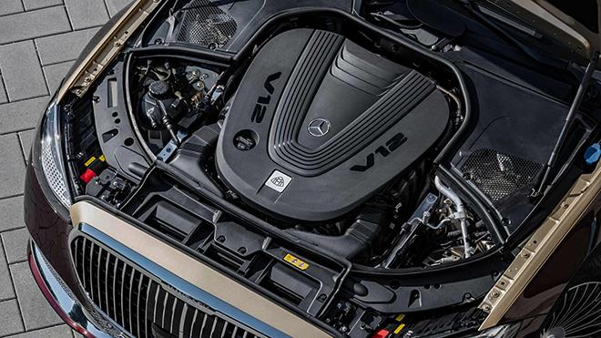 Mercedes-Maybach S650 vẫn được trang bị động cơ V12 - 10