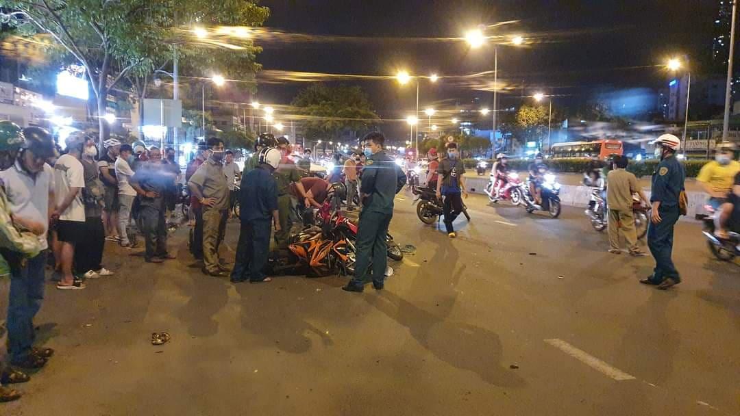 """TP.HCM: Sau tiếng hô hoán """"cướp, cướp"""", thanh niên chạy xe ngược chiều tử vong trên đường Điện Biên Phủ - 1"""