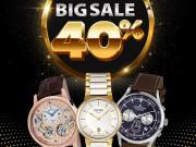Thế giới thời trang - Big sale lớn nhất từ trước tới nay giảm đến 40% đồng hồ chính hãng nhân dịp sinh nhật Đăng Quang Watch