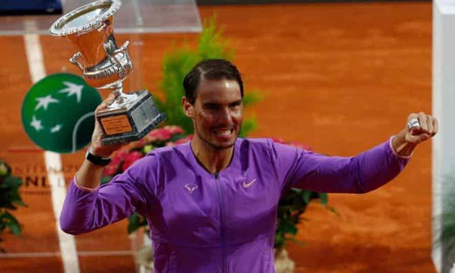Nadal vô địch Rome Masters, bị dự đoán có thể mất ngôi ở Roland Garros - 1