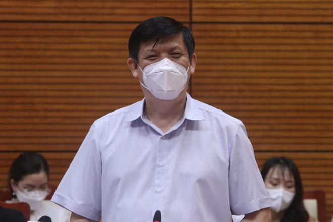 Bộ trưởng Nguyễn Thanh Long: Bắc Ninh phải đặt các khu công nghiệp ở tình trạng báo động trong phòng, chống dịch COVID-19 - 1