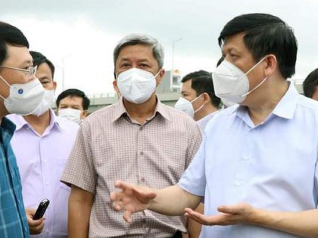 Sức khỏe đời sống - Tình hình Bắc Giang rất nóng, Bộ trưởng Bộ Y tế về làm việc, đề nghị Việt Yên phải phong toả