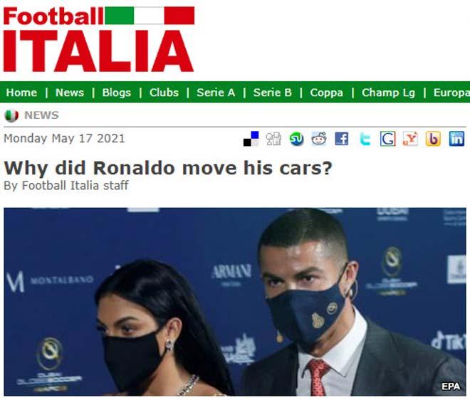 Tin mới vụ Ronaldo rời Italia: Truyền thông tiết lộ sự thật, fan Juventus thở phào - 1