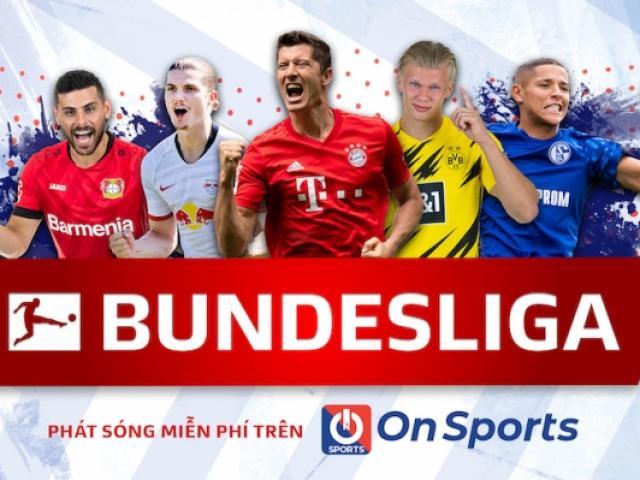 Bóng đá - Lịch thi đấu BÓNG ĐÁ ĐỨC - Bundesliga 2020/2021 mới nhất