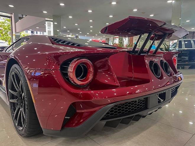 Cận cảnh siêu phẩm Ford GT tại TP.HCM - 7