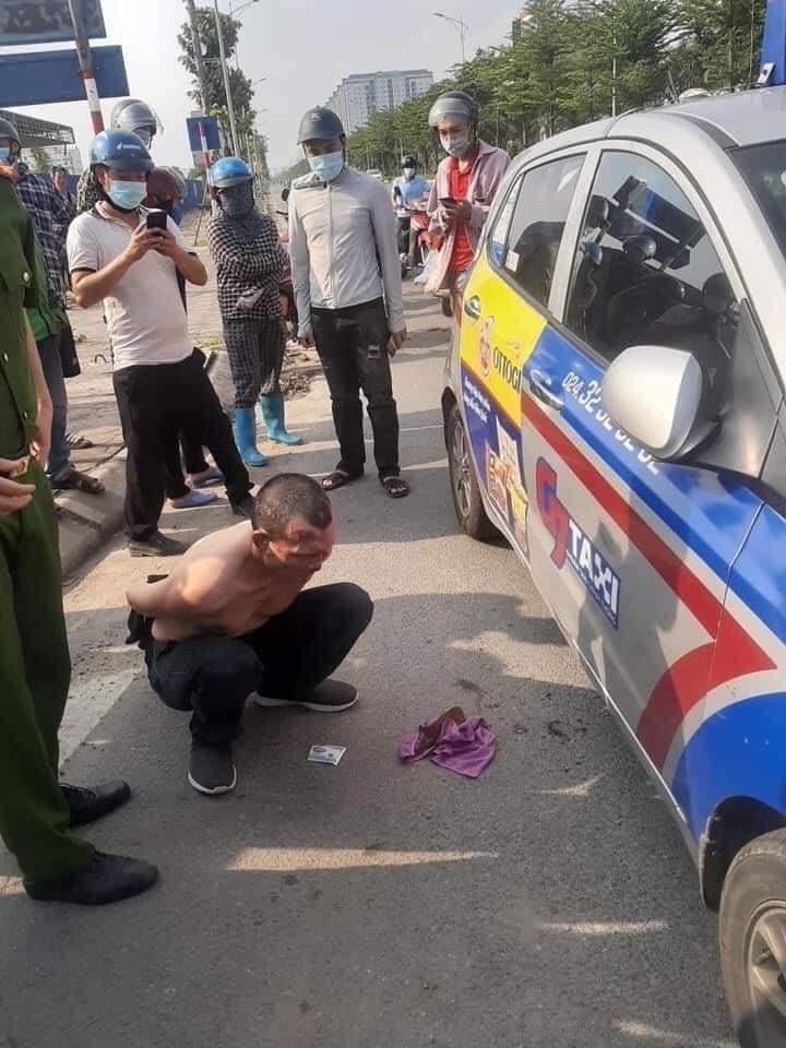 Diễn biến mới vụ nam tài xế taxi hạ gục kẻ giết người trốn nã - 1