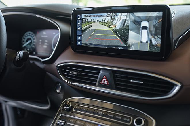 Giá lăn bánh các phiên bản nâng cấp xe Hyundai SantaFe vừa ra mắt - 9