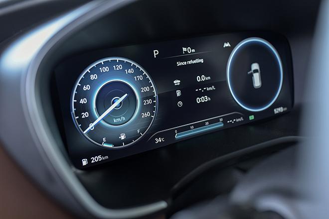 Giá lăn bánh các phiên bản nâng cấp xe Hyundai SantaFe vừa ra mắt - 8
