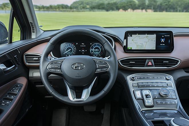 Giá lăn bánh các phiên bản nâng cấp xe Hyundai SantaFe vừa ra mắt - 7