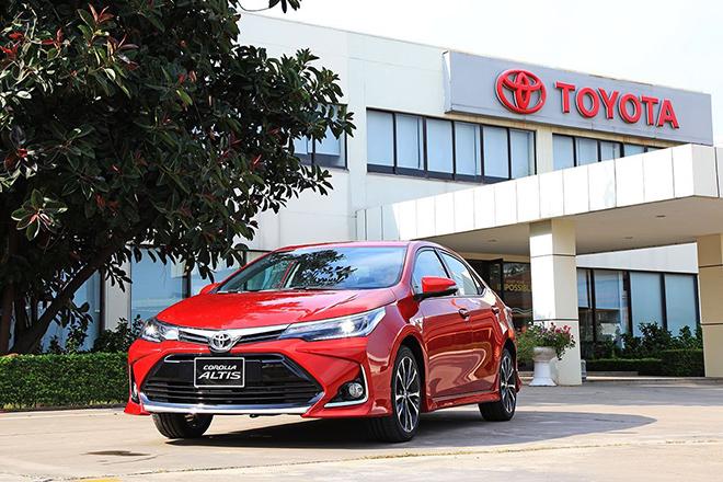 Giá xe Toyota Corolla Altis lăn bánh tháng 5/2021 - 1
