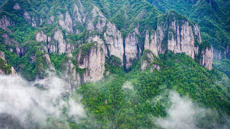 """Ngọn núi bí ẩn nhất Chiết Giang, từng xuất hiện trong phim """"Anh hùng xạ điêu"""" - 1"""