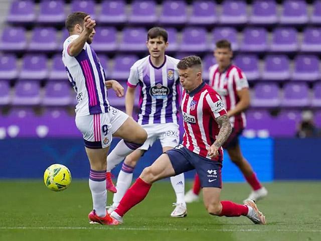 """Video Valladolid - Atletico Madrid: Suarez """"đóng hòm"""", đăng quang xứng đáng"""