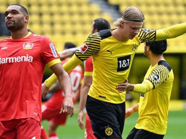 Trực tiếp bóng đá Dortmund - Bayer Leverkusen: Bàn thắng danh dự (Hết giờ)