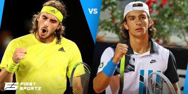 """Nóng bỏng bán kết Lyon Open: Tsitipas dè chừng """"hiện tượng"""" tuổi teen - 1"""