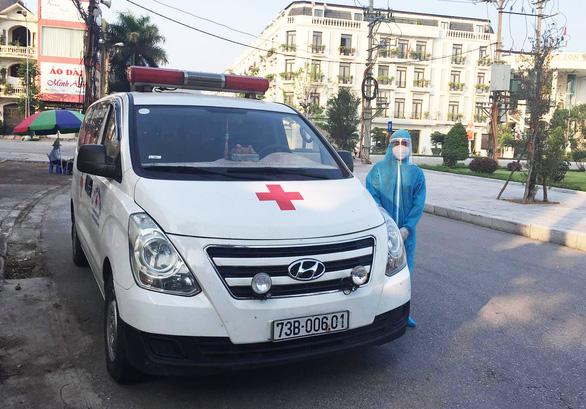 Chàng trai lái xe cứu thương xuyên đêm từ Quảng Bình tới Bắc Giang, tình nguyện hỗ trợ chống dịch - 1