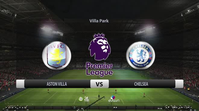 Video Aston Villa - Chelsea: Cú sốc liên tiếp, lách qua khe cửa hẹp (vòng 38)