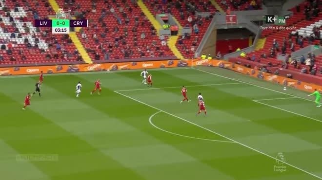 Video Liverpool - Crystal Palace: Mane ghi cú đúp, cán đích top 3 rực rỡ (vòng 38)