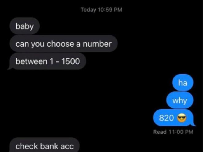 Khó hiểu làm theo yêu cầu lạ của bạn trai, cô gái cười sung sướng khi nhìn tài khoản ngân hàng - 1
