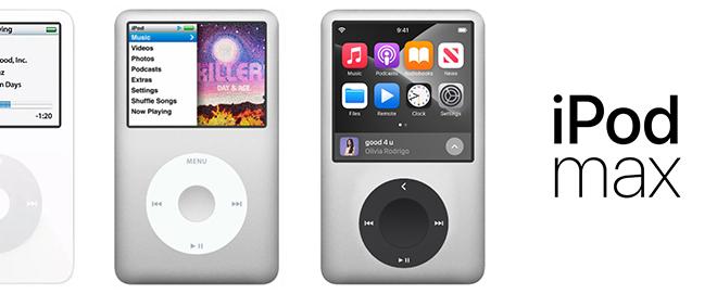 Ngắm iPod Max vừa đẹp, vừa nghe nhạc cực chất - 1