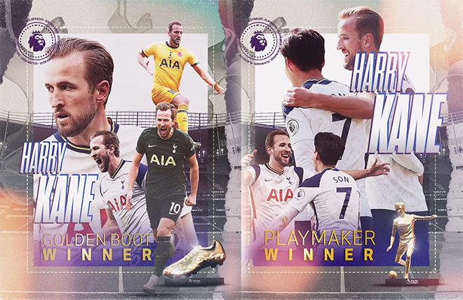 Ngoại hạng Anh hạ màn: Harry Kane càn quét danh hiệu và những kỷ lục ấn tượng - 1