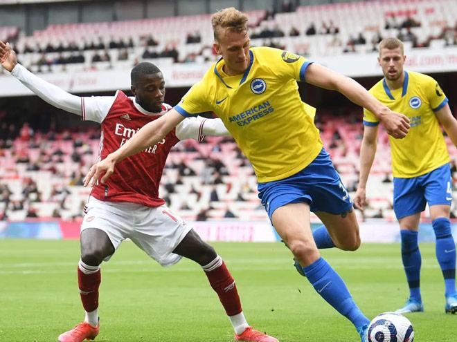 Video Arsenal - Brighton: Cú đúp đẳng cấp, nuối tiếc cúp châu Âu (vòng 38) - 1