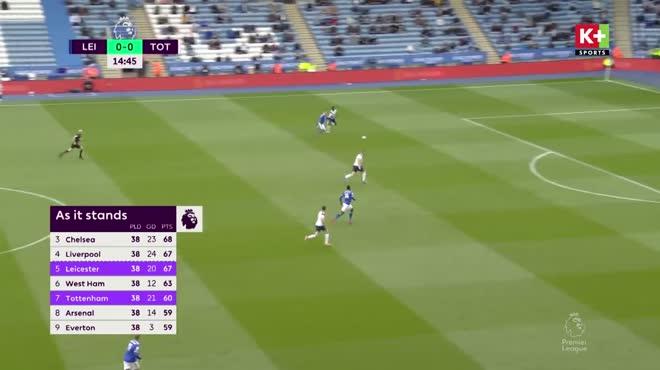 Video Leicester - Tottenham: Ngược dòng choáng váng, Bale nhấn chìm giấc mơ (vòng 38)