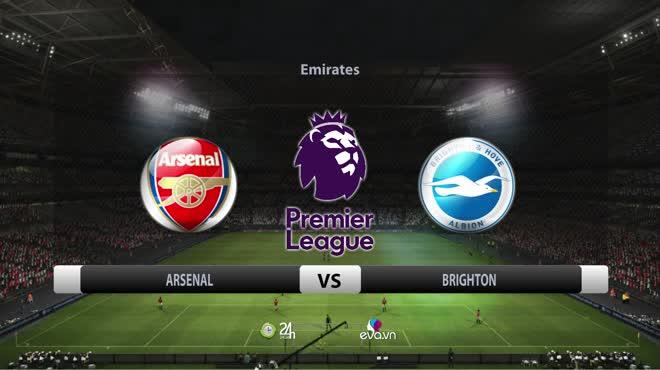 Video Arsenal - Brighton: Cú đúp đẳng cấp, nuối tiếc cúp châu Âu (vòng 38)