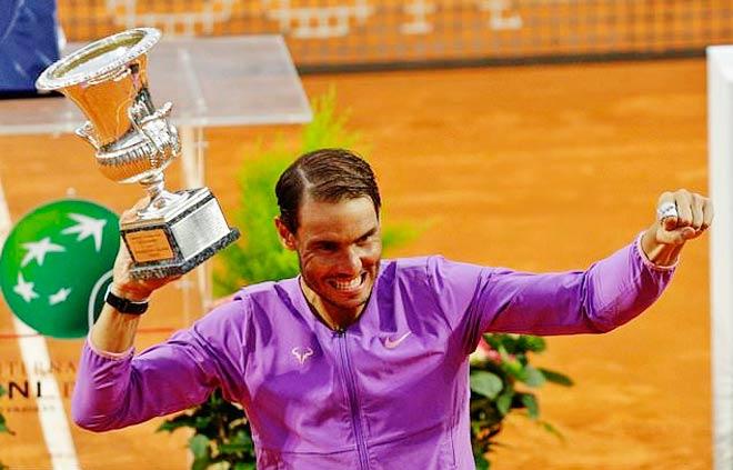 Phong độ nào của Nadal trước thềm Roland Garros? - 1