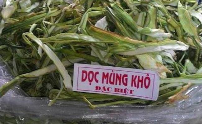 Trên Amazon, một cây dọc mùng Việt Nam bao gồm cả rễ được rao bán với giá gần 22 USD (hơn 500.000 đồng).