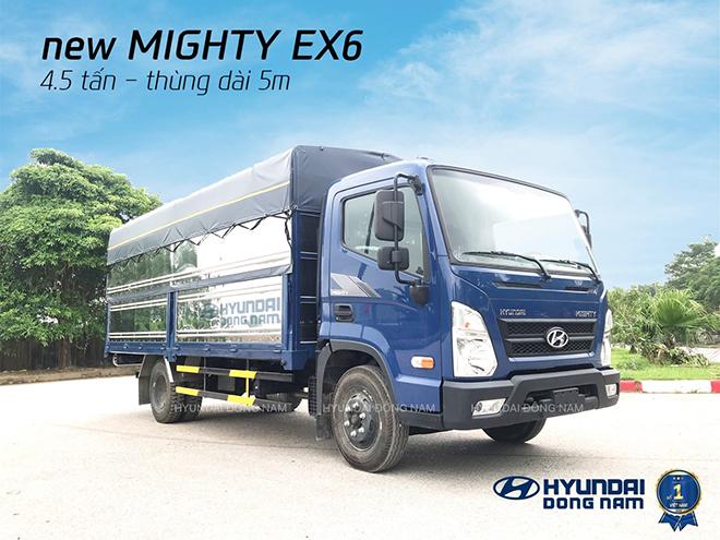 Hyundai Đông Nam phân phối xe tải Mighty EX6 bản cao cấp - 1