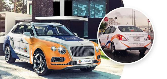 Đắt tiền như Bentley Bentayga hay Porsche Cayenne cũng chỉ là xe thi bằng lái tại nơi này - 1
