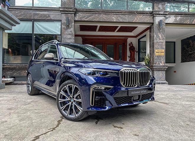 Chi tiết mẫu xe SUV hiệu suất cao BMW X7 M50i vừa có mặt tại Việt Nam - 1