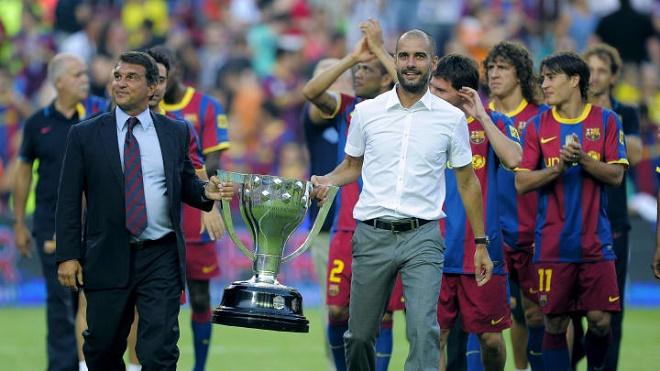 """Chủ tịch Barca định """"cướp"""" Pep Guardiola khỏi Man City bằng kế hoạch sốc - 1"""
